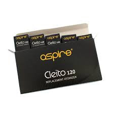 Aspire Cleito 120 Replacement Coils - 5 Pack