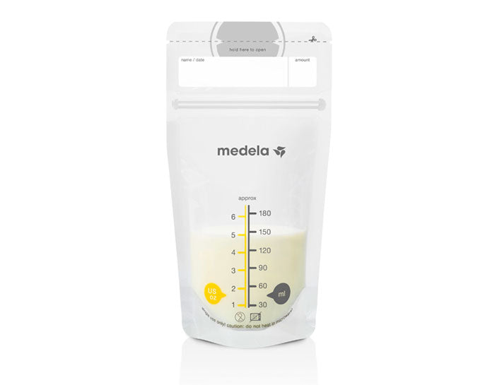 Medela Breast Milk Storage Bags - 25 count