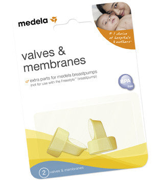 Medela Extra Valves & Membranes (For PNSA Pumps)