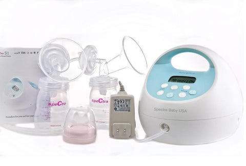 Spectra Baby S1 Hospital Strength Double Electric Breast Pump with Rechargeable Battery