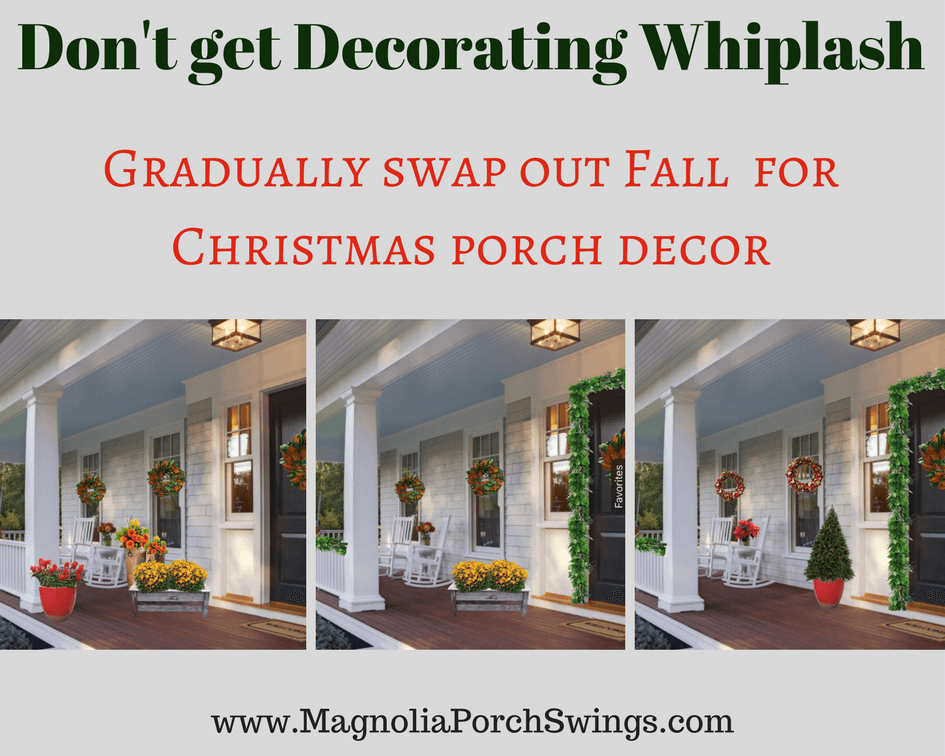How to Swap Porch Decor from Season to Season