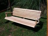 LA Cypress 7 Foot Classic Porch Swing - Magnolia Porch Swings  - 3