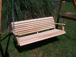 LA Cypress 6 Foot Classic Porch Swing - Magnolia Porch Swings  - 1