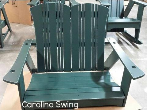 Uwharrie Chair Co. Carolina Porch Swing - Magnolia Porch Swings  - 1