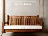 Nostalgic Craftsman Porch Swing