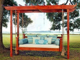 Elegant Charleston Porch Swing Bed