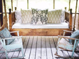 HammMade Traditional Swing Bed - Magnolia Porch Swings  - 3
