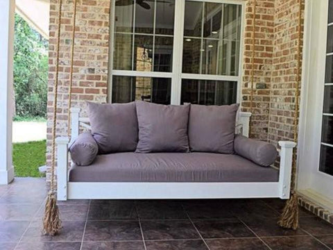 historic hilton head hanging porch swing bed - Porch Swing Bed