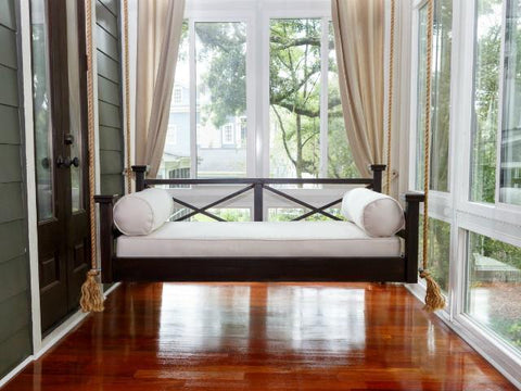 QUICK SHIP PRODUCT: Crib Size Historic Hilton Head Swing Bed - Painted (LIMITED QUANTITY)