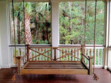 Historic Hilton Head Hanging Porch Swing Bed