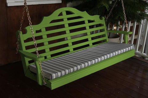 A&L Furniture Marlboro Pine Swing 371 372 373 - Magnolia Porch Swings  - 1