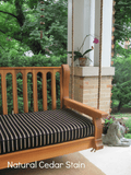 Nostalgic Classic Porch Swing and Accessories - Magnolia Porch Swings  - 3