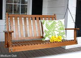 Dixie Seating Co. Asheboro 4 Foot Porch Swing - Magnolia Porch Swings  - 6
