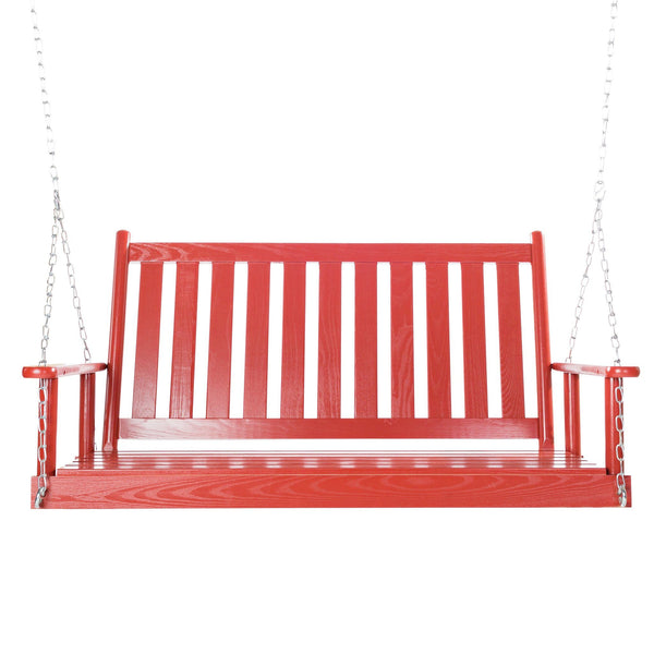 Dixie Seating Co. Corolla 4 Foot Porch Swing - Magnolia Porch Swings  - 1