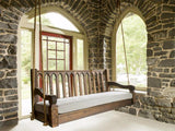 Nostalgic Cathedral Porch Swing and Accessories - Magnolia Porch Swings  - 1