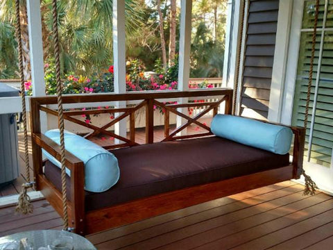 Custom Carolina Perfect Pawleys Swing Bed - Magnolia Porch Swings  - 1