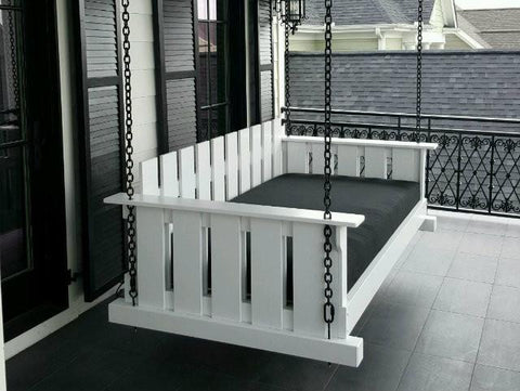 Magnolia - The Rivertowne Swing Bed - Magnolia Porch Swings  - 2