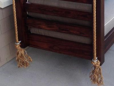 Swing Bed Hanging Ropes - Magnolia Porch Swings  - 1