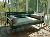QUICK SHIP PRODUCT - Twin Sized -- Beautiful Beaufort Hanging Porch Swing Bed