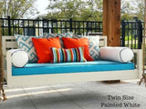 Beautiful Beaufort Hanging Porch Swing Bed