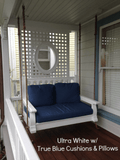 Nostalgic Classic Porch Swing and Accessories - Magnolia Porch Swings  - 7
