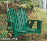 Uwharrie Chair Co. Original Porch Swing - Magnolia Porch Swings  - 1
