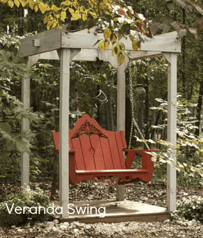 Uwharrie Chair Co. Veranda Porch Swing - Magnolia Porch Swings  - 1