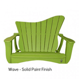 Uwharrie Chair Co. Wave Porch Swing - Magnolia Porch Swings  - 2