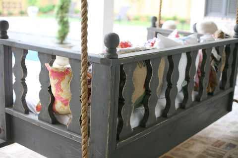 HammMade Victorian Swing Bed - Magnolia Porch Swings  - 1