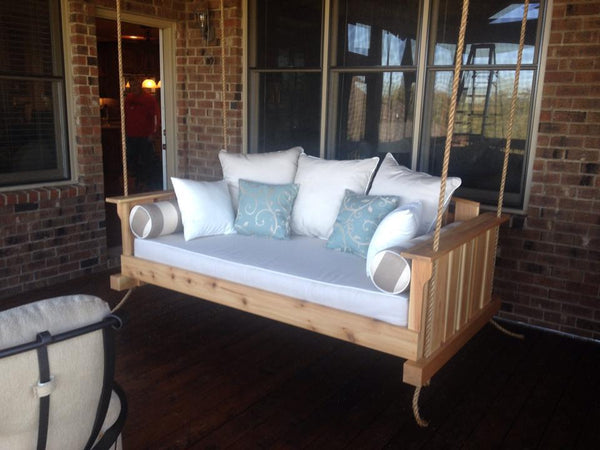 Magnolia - The Daniel Island Swing Bed - Magnolia Porch Swings  - 3