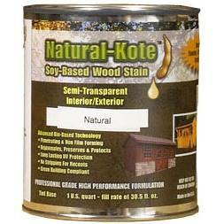 Natural-Kote Soy-Based Exterior Stain