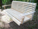 LA Cypress 7 Foot Classic Porch Swing - Magnolia Porch Swings  - 2