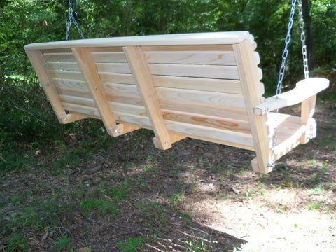 ... LA Cypress 7 Foot Roll Back Porch Swing   Magnolia Porch Swings   ...