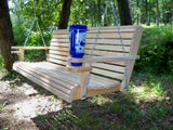 LA Cypress 7 foot Roll Back Porch Swing - Magnolia Porch Swings  - 3