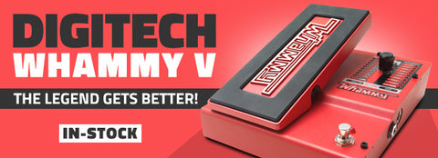 Digitech Whammy 5 available at Dudebroski Guitars