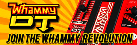Digitech Whammy DT available at Dudebroski Guitars