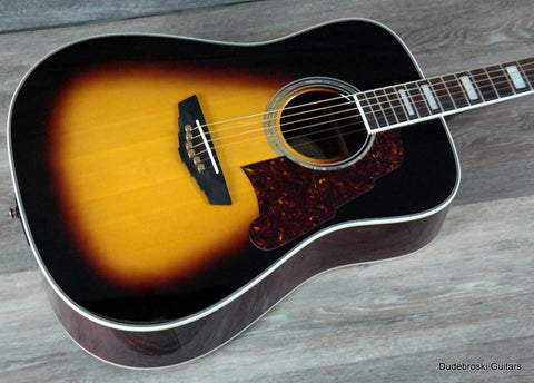 DAngelico Lexington ASD300 Rich, Organic Tone & Legendary Aesthetics w/Fishman INK-4 Preamp & OHSC! - Dudebroski Guitars