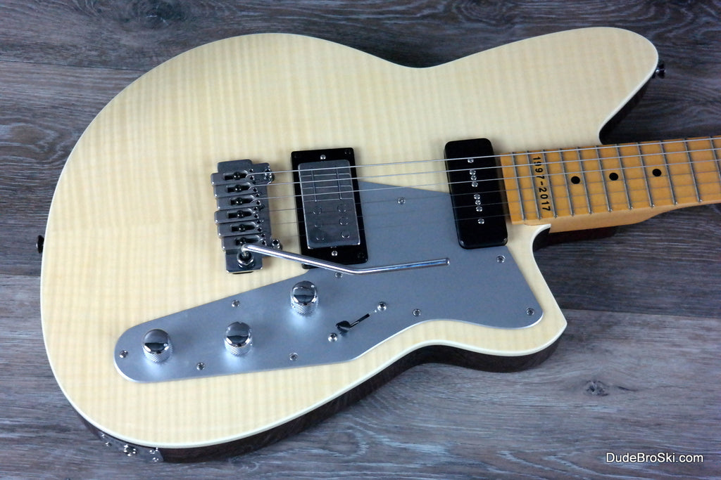2. Reverend - Double Agent W 20th Anniversary Limited Edition, Natural Flame Maple