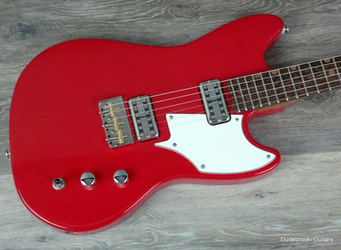 1. BA Ferguson Unitas Standard Class Grifter, Limited Edition in Cardinal Red - Dudebroski Guitars