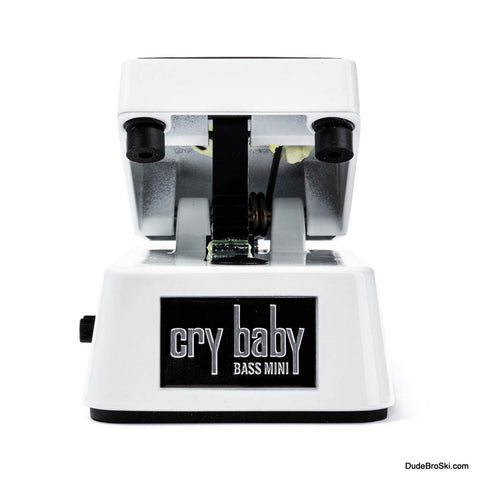 Dunlop Cry Baby CBM105Q - Mini Bass Wah, Half The Size with a Lighter Aluminum Housing - Dudebroski Guitars