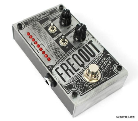 Digitech FreqOut - Natural Feedback Creator, Get Sweet Natural Feedback at any Volume - Dudebroski Guitars