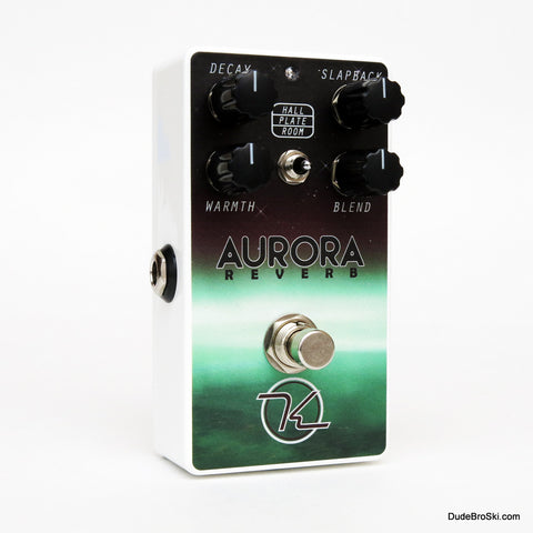 Keeley Aurora Reverb - The Hallowed Halls of Psycho-Acoustic Processing - Dudebroski Guitars