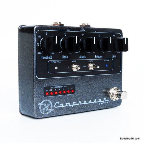 Keeley Compressor Pro - Professional Studio Compressor Pedal‎ For Guitar or Bass! - Dudebroski Guitars