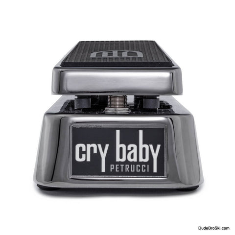 Dunlop Cry Baby John Patrucci JP95 - Ultimate Tonal Control Over Your Wah Sound. - Dudebroski Guitars