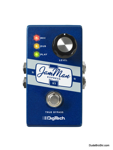 Digitech JamMan Express XT - Compact Stereo Looper with JamSync - Dudebroski Guitars
