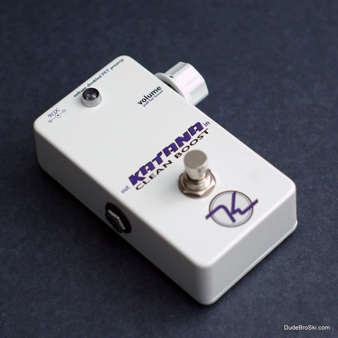 Keeley Katana Clean Boost - Redesigned, Making Perfection Sound Just a Bit Better!