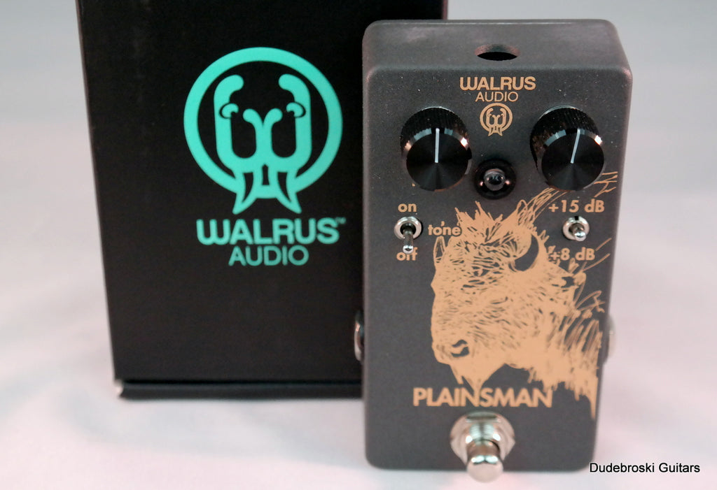 Walrus Audio Plainsman Dual Stage Clean Boost (Used)
