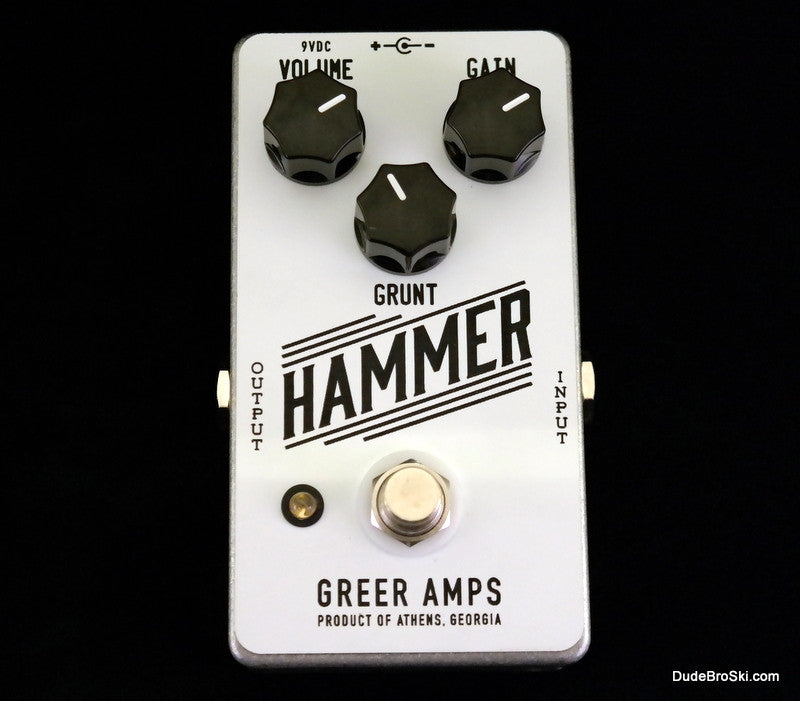 Greer Amps - Hammer, Gnarly Distortion to Squashed out Fuzz