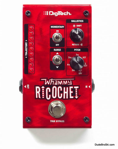 Digitech Whammy Ricochet - Classic Whammy Pitch-Shifting & New Sounds Never Heard Before - Dudebroski Guitars
