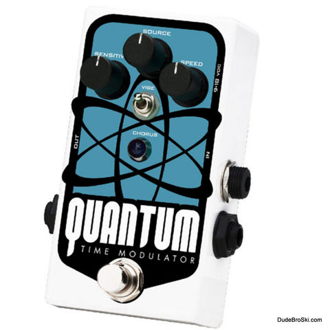 Pigtronix Quantum Time Modulator - Multi Dimension Chorus Horror Film Vibrato DynaFlanger